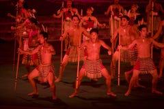 2331 haka maoryjski Obrazy Stock