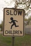 孩子减慢 库存照片
