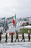 235 volontari d'addestramento Piceno del reggimento Immagine Stock