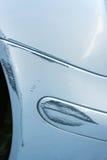 小事故的汽车 免版税图库摄影