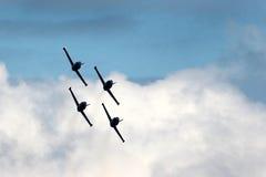 2396喷气式歼击机 免版税图库摄影