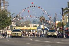 23ro Maratón de Los Ángeles Foto de archivo libre de regalías