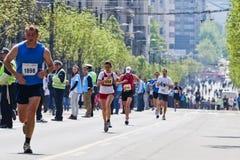 24ème Marathon 2011 de Belgrade. Photos stock
