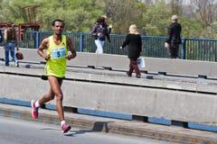 24ème Marathon 2011 de Belgrade. Image stock