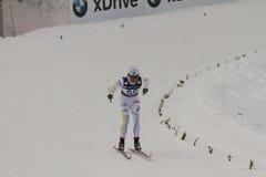 24个冠军2月fis北欧奥斯陆滑雪世界 图库摄影