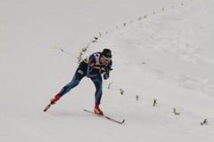 24个冠军2月fis北欧奥斯陆滑雪世界 免版税库存照片