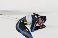 24个冠军2月fis北欧奥斯陆滑雪世界 库存图片
