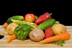 24棵蔬菜 免版税库存图片