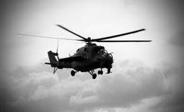 24直升机后面mi苏维埃 免版税库存图片