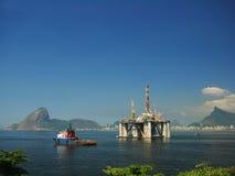 24石油平台 免版税图库摄影