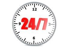 24 öffnendes Konzept 7 Lizenzfreies Stockfoto