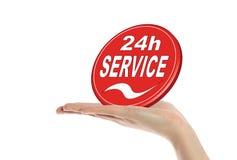 24 обслуживания часа Стоковые Фото