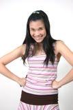 新亚裔女孩24 库存照片