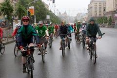 24 2009 bikeday каждый kiev могут год Украины Стоковое Фото