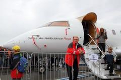24 2010年airshow emmen 7月 免版税图库摄影