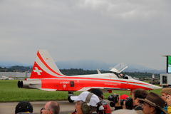 24 2010年airshow emmen 7月 免版税库存图片