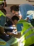 24 2012年迪拜dunlop时数种族 免版税库存照片