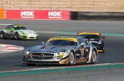 24 2012 race för dubai dunloptimmar Arkivfoto