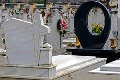 葬礼十字架24的类型 库存图片