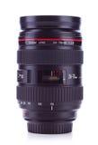 24-70 millimeter, lins för zoom f2.8 Arkivbild