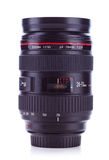 24-70 mm, f2.8 zoom lens Stock Photography