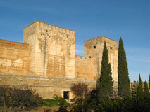 24 alhambra Γρανάδα Στοκ Εικόνες