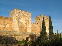 24 alhambra granada Arkivfoto
