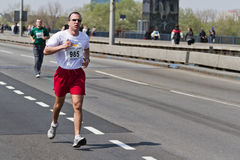 24. Belgrad-Marathon 2011. Stockfotografie