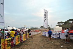 24 H MTB Rome Photographie stock