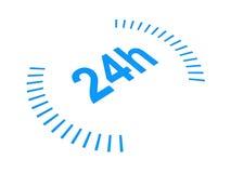 24 heures   illustration stock
