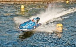 24 horas de raça de barco em St Petersburg Fotografia de Stock Royalty Free