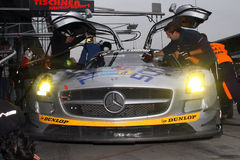 24 HOUR RACE NUERBURGRING SLS  Stock Images