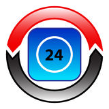 24 Hours Per Day Royalty Free Stock Image