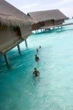 24 maldives fotografering för bildbyråer