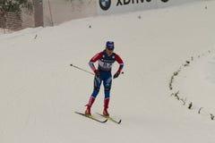24 mistrzostwa Feb fis północnych Oslo narciarskich światu Fotografia Stock