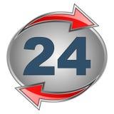 24 muestras stock de ilustración