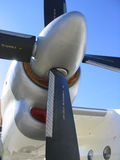 An-24 Prop stock photography