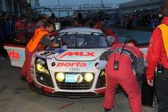 24 raças Nuerburgring da hora Imagens de Stock