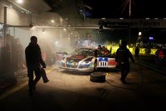 24 raças Nuerburgring da hora Foto de Stock Royalty Free
