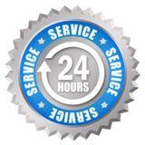 24 usługa Obrazy Stock