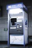 24 uur ATM Stock Fotografie