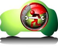 24 véhicules de maintenance d'heure Photo libre de droits