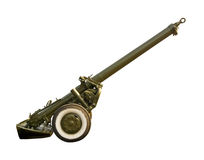 240 mm mortar royalty free stock photo
