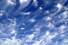 惊人的天空 免版税图库摄影
