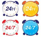 24h doręczeniowa usługa Zdjęcie Stock
