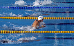 25ème Universiade Belgrade 2009 - natation Photos stock