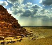 25座吉萨棉金字塔 库存照片