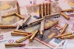 25种罪行枪 免版税库存照片