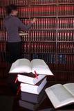 25 βιβλία νομικά στοκ φωτογραφία με δικαίωμα ελεύθερης χρήσης