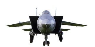 25 самолет-истребитель mig Стоковое Изображение